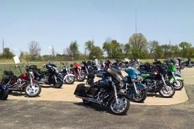 Eagle Riders Hunter House Bike Run - May 22, 2016
