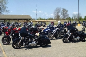 Eagle Riders Hunter House Bike Run - May 22, 2016